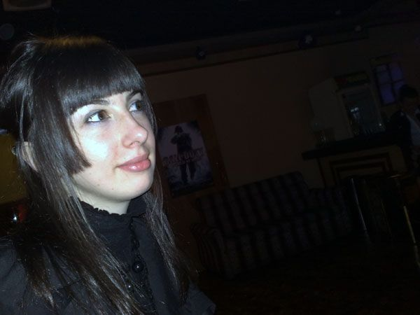 Девушка на фоне CoD4